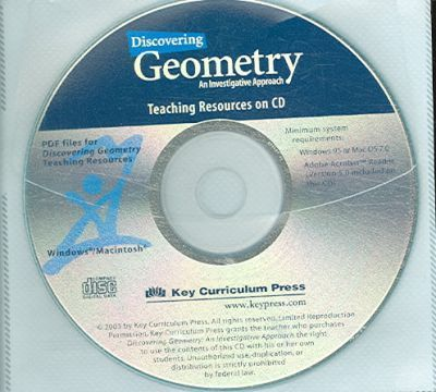 Discovering Geometry: An Investigative Approach - Teaching Resources CD