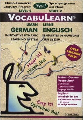 VocabuLearn German/English: Level 2