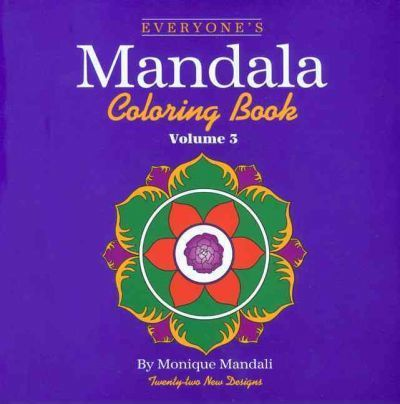 Everyone's Mandala Colouring Book: v. 3
