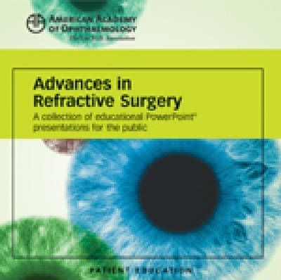 Advances in Refractive Surgery Powerpoint Presentation