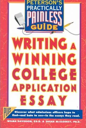 Writing a Winning College Application Essay : Wilma Davidson : 9781560796015 - 웹