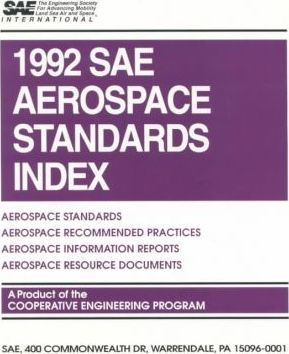 1992 SAE Aerospace Standards Index