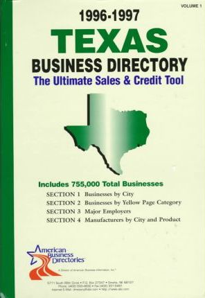 Texas Business Directory 1996-97