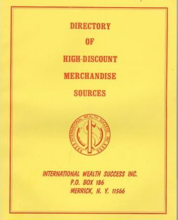 Directory of High-Discount Merchandise Sources