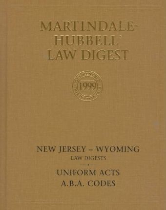 Martindale-Hubbell International Law Directory 1999