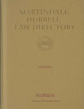 Martindale- Hubbell Law Directory