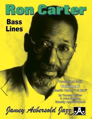 Ron Carter Bass Lines : Ron Carter : 9781562241001
