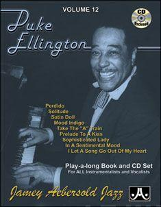 Volume 12: Duke Ellington (with Free Audio CD): 12