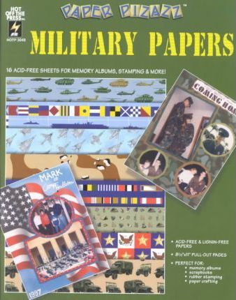 Paper Pizazz Military Papers