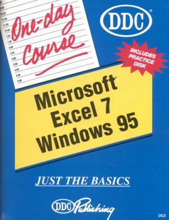 Microsoft Excel 7 for Windows 95