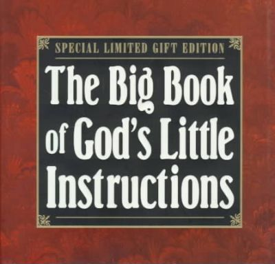 The Big Book of God's Little Instructions
