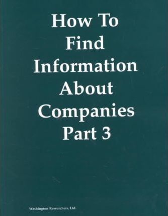 How to Find Information About Companies