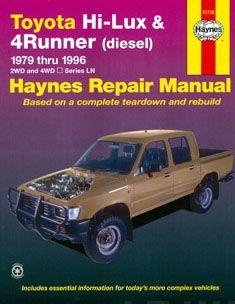 Toyota Hi-Lux and 4 Runner (diesel) Australian Automotive Repair Manual