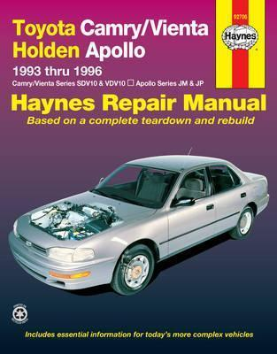 toyota camry vienta and holden apollo australian automotive repair rh bookdepository com 1993 Toyota Camry White 1993 Toyota Camry Undercarriage