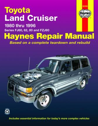 toyota land cruiser 80 96 j h haynes 9781563923012 rh bookdepository com 80 series land cruiser service manual 2000 Toyota Land Cruiser