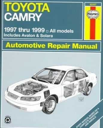 Toyota Camry 1997-99 Automotive Repair Manual