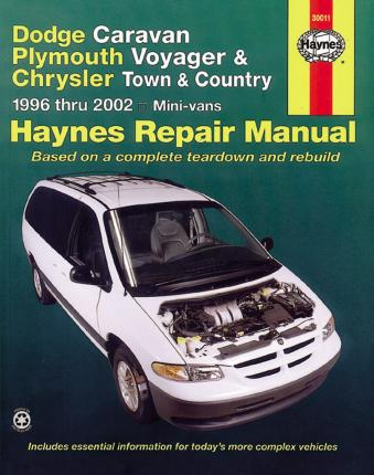 96 1996 Chrysler Town and Country owners manual