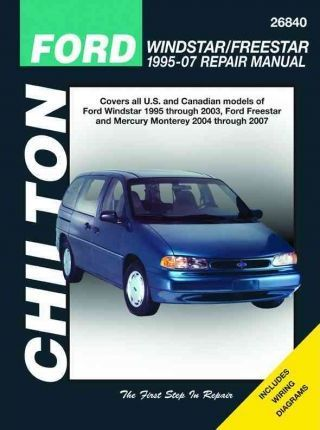 Ford Windstar Automotive Repair Manual: 95-07