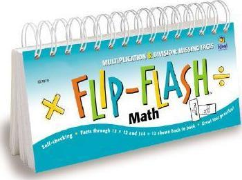 Flip-Flash(tm) Math, Missing Facts Multiplication and Division