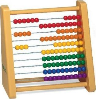 Plastic Ten-Row Counting Frame