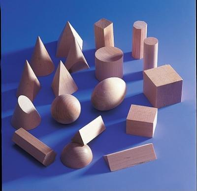 Geometric Wooden Forms