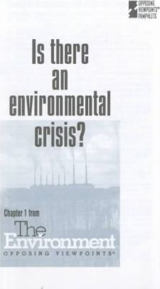 Is There an Environmental Crisis?