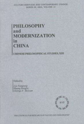 Philosophy and Modernization in China