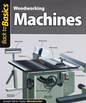 Woodworking Machines : Straight Talk for Today's Woodworker