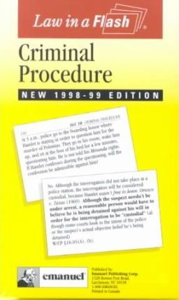 Criminal Procedure Liaf Pb
