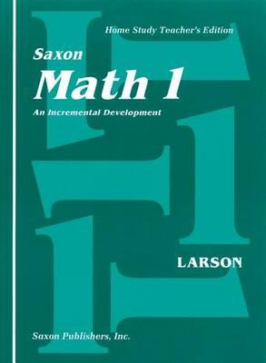 Saxon Math 1 Home Study Teachers Manual First Edition