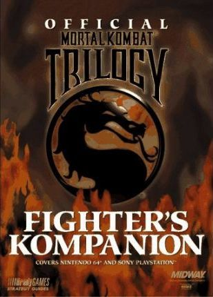 Official Ultimate Mortal Kombat 3 Fighter's Kompanion