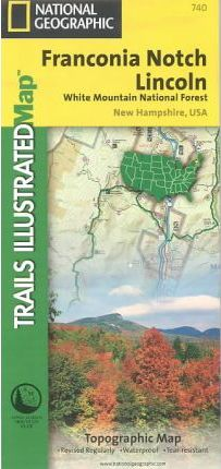 Trails Illustrated Franconia Notch Lincoln Topographic