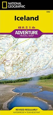 Iceland : Travel Maps International Adventure Map
