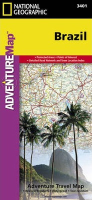 Brazil : Travel Maps International Adventure Map