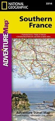 Southern France National Geographic Maps 9781566956055