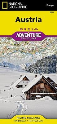 Austria : Travel Maps International Adventure Map