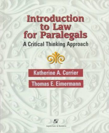 Introduction to Law for Paral CB