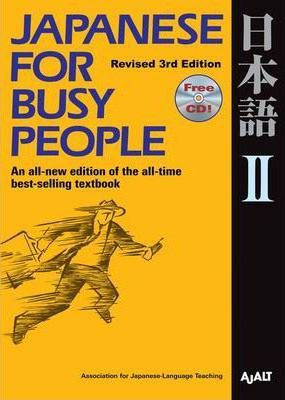 Japanese For Busy People 2
