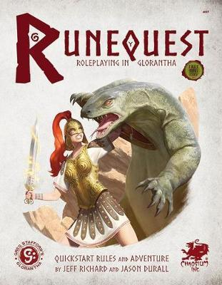 Runequest  Roleplaying in Glorantha Quick Start