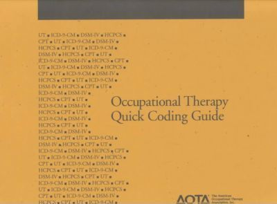 Occupational Therapy Quick Coding Guide