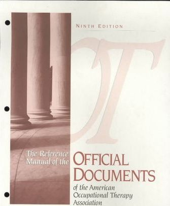 Reference Manual of the Official Documents of the American Occupational Therapy Association/With Addendum