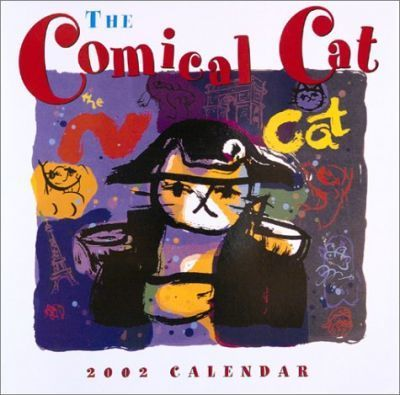 Comical Cat Calendar 2002