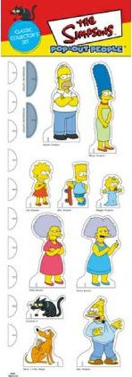 The Simpsons Pop-Out People