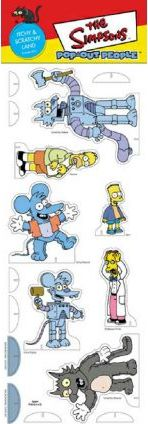 Simpsons Pop Out People