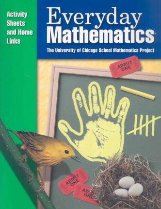 Everyday Mathematics, Grade K, Consumable Activity Sheets and Home Links