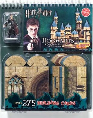 Building Cards Hogwarts School of Witchcraft and Wizardry