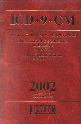 ICD-9-CM 2002, Pmic Deluxe Edition, International Classification of Diseases, 9th Revision, Clinical Modification (Color Coded,