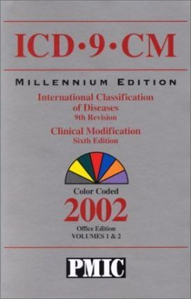 ICD-9-CM 2002, Pmic Standard, Compact, International Classification of Diseases, 9th Revision