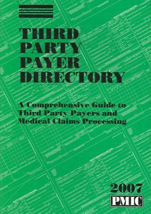 Third Party Payer Directory 2007