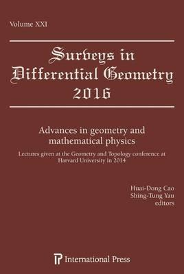 Advances in Geometry and Mathematical Physics : Huai-Dong Cao